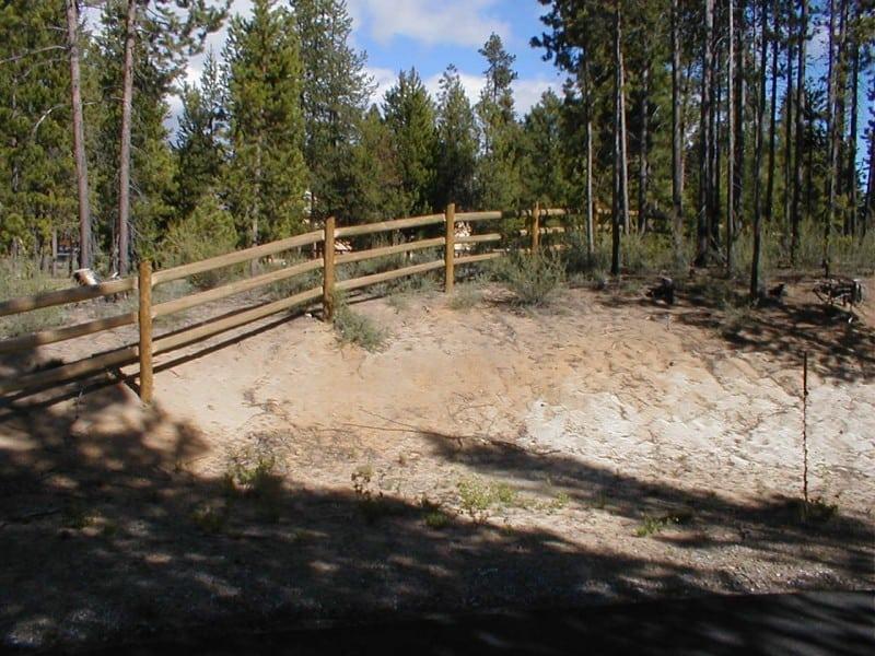 3-rail- Post & Pole