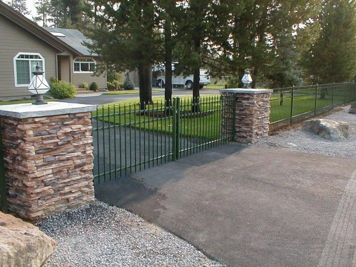 Custom Ornamental Iron Gate 50