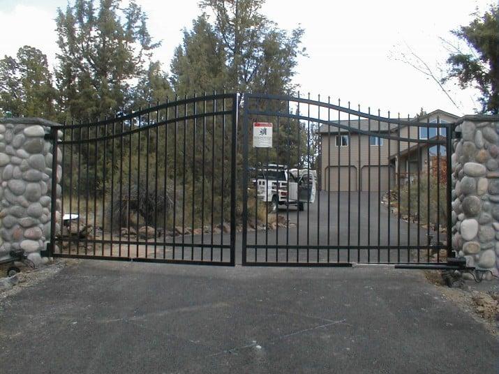 Custom Ornamental Iron Gate 48