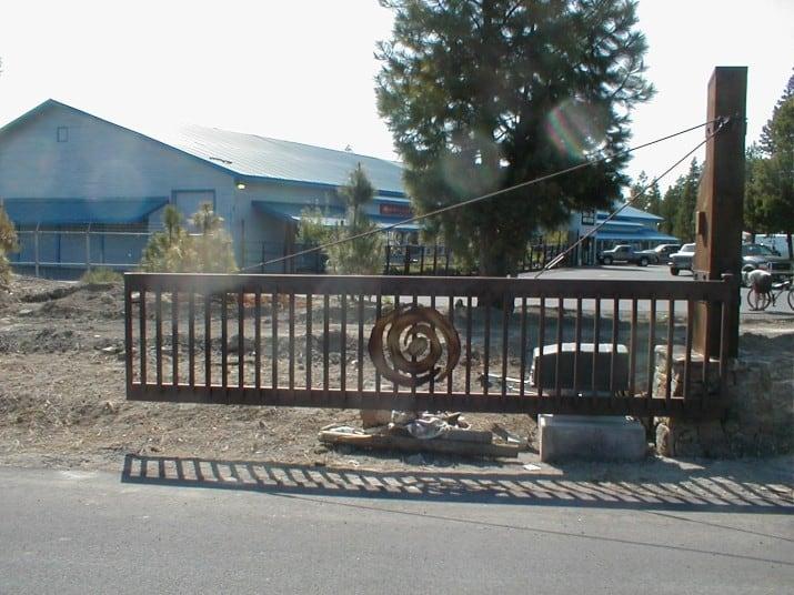 Custom Ornamental Iron Gate 45
