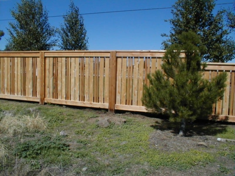 Custom Semi Privacy Cedar