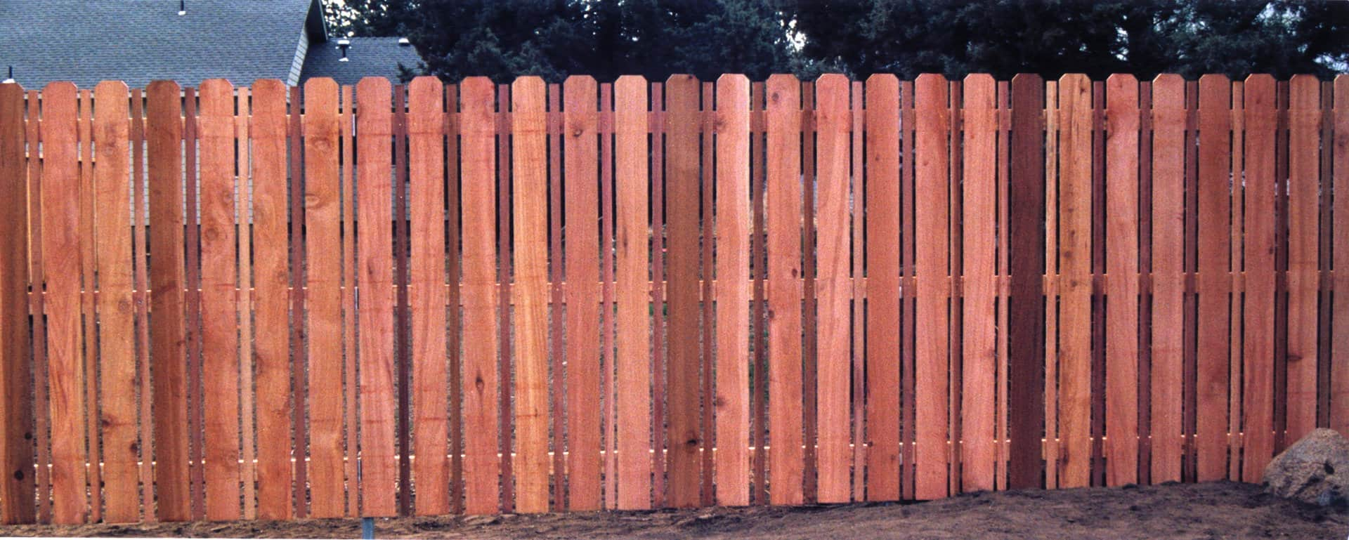 Sawtooth Cedar Picket