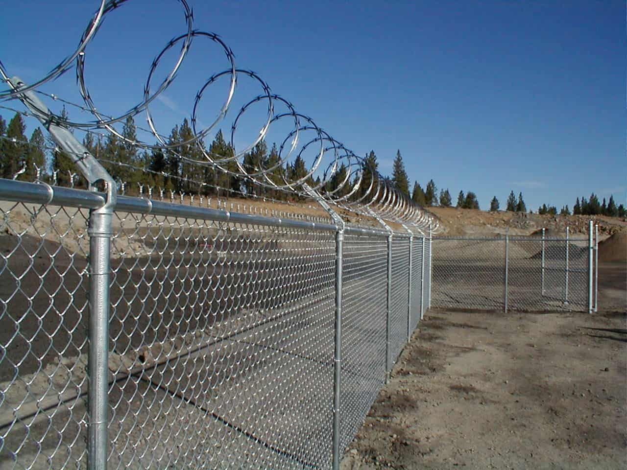 Chainlink W/ Barbwire