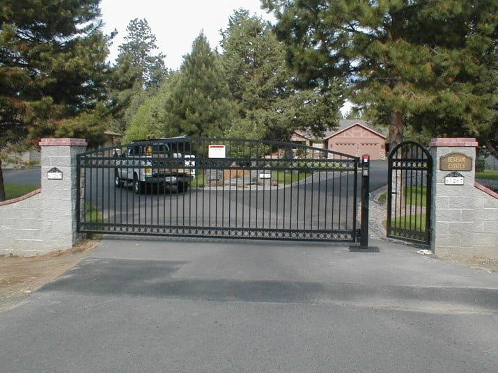 Custom Ornamental Iron Gate 44