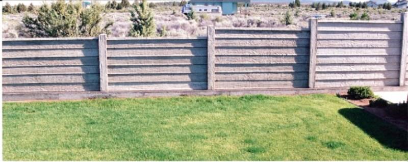 Concrete Privacy Fencing