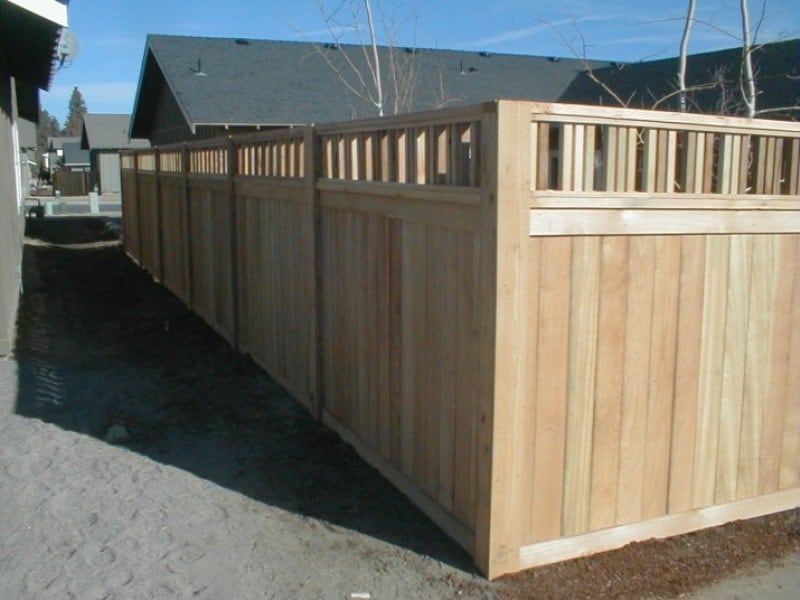 Craftsman Custom Semi Privacy Cedar