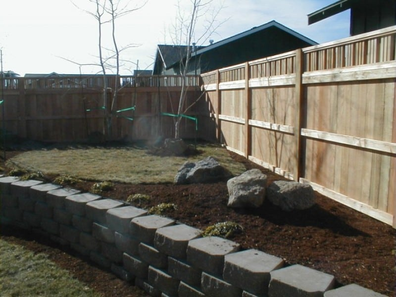 Mikes fence for Craftsman style fence