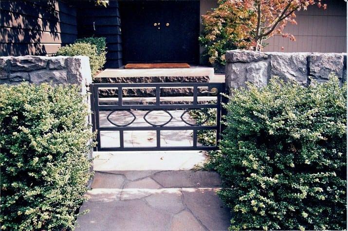 Custom Ornamental Iron Gate 40