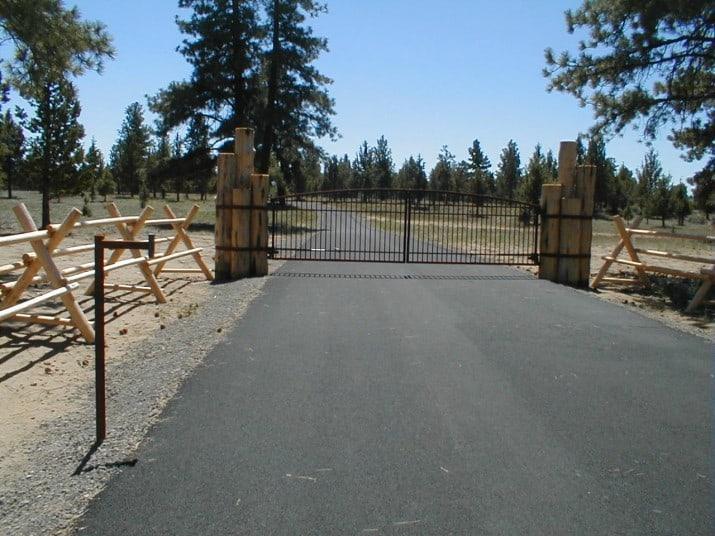 Custom Ornamental Iron Gate 37