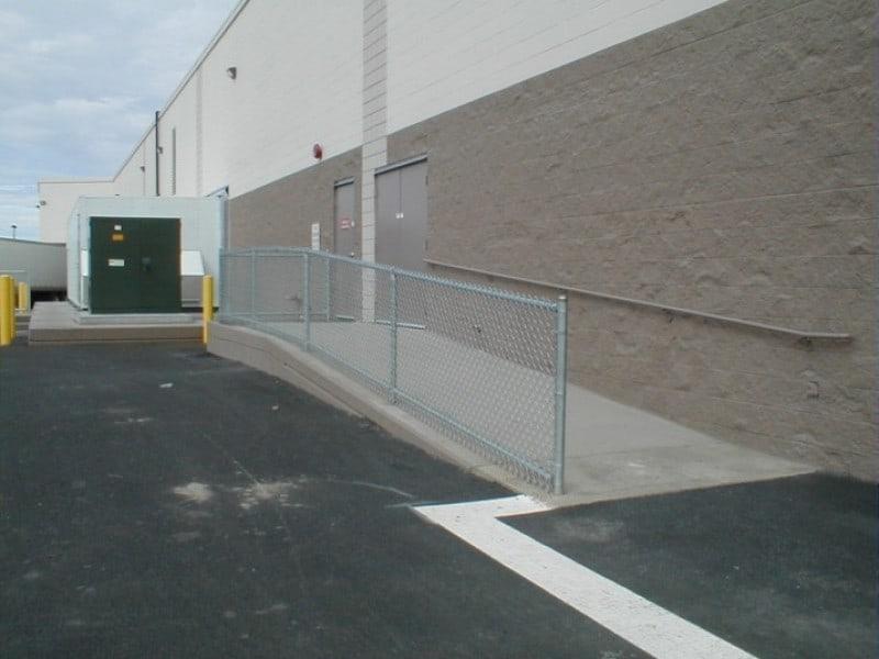 Galv. Ramp/Handrail