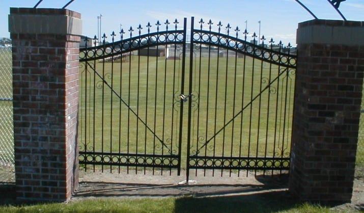 Custom Ornamental Iron Gate 34