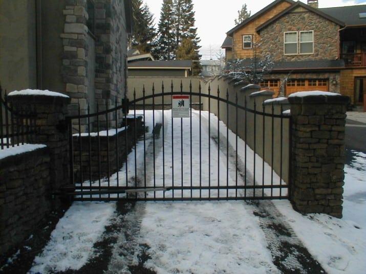 Custom Ornamental Iron Gate 30