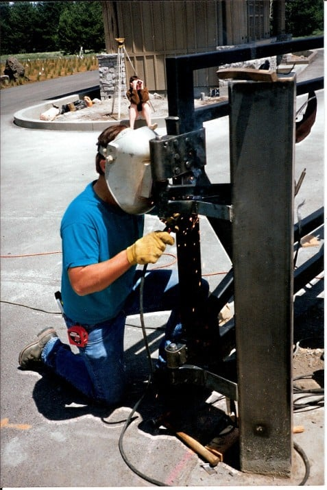 Mike Welding Hinges