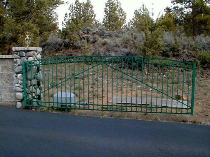 Custom Ornamental Iron Gate 28