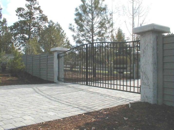 Custom Ornamental Iron Gate 24