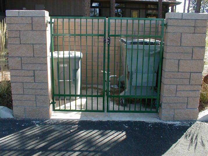 Custom Ornamental Iron Gate 22
