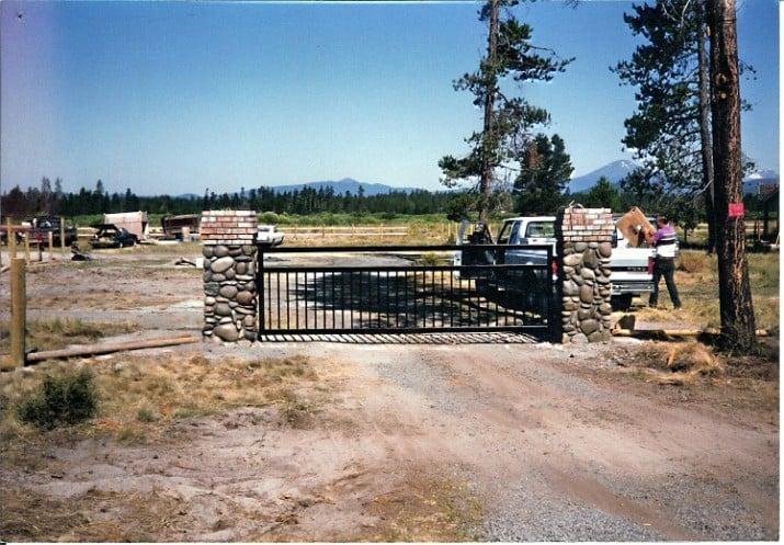 Custom Ornamental Iron Gate 20