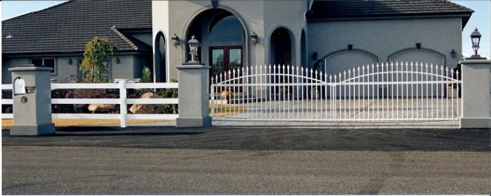 Custom Ornamental Iron Gate 19