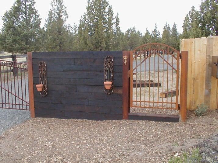 Custom Ornamental Iron Gate 15