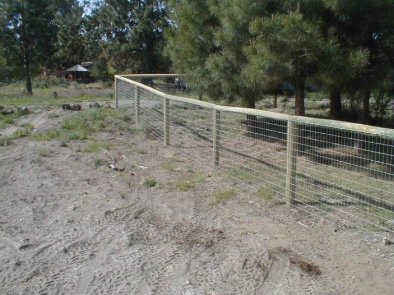 Post & Cap Fencing W/ Non Climb