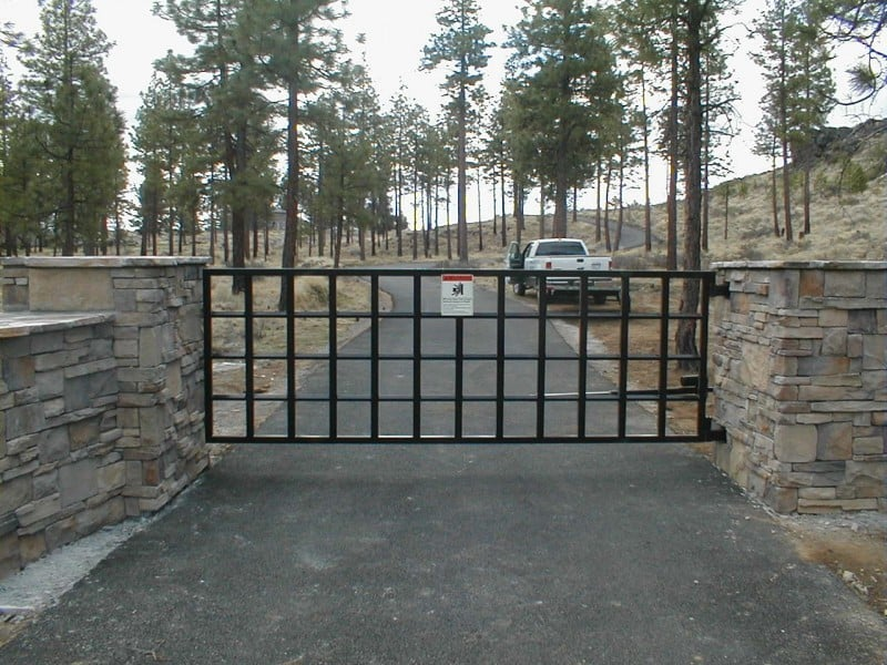 Automatic Entry Gate 39
