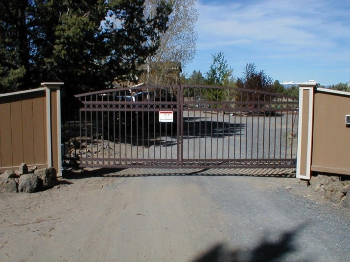 Custom Ornamental Iron Gate 10