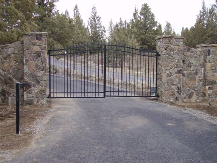 Custom Ornamental Iron Gate 9