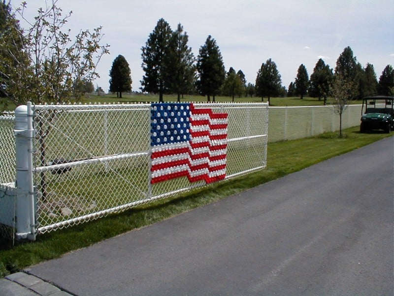 Custom Flag - Chainlink Gate