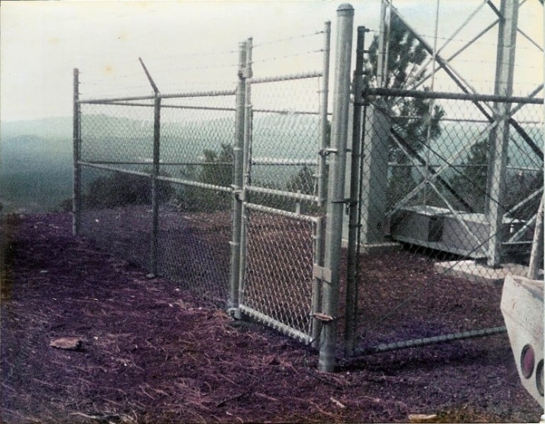 Security Chainlink - Cell Tower