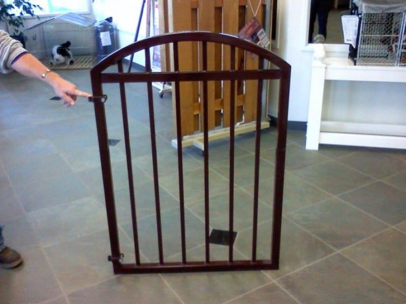 Simple Ornamental Iron Gate