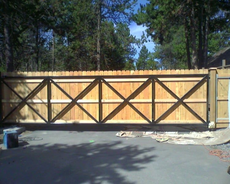 Sunriver Resort Gate