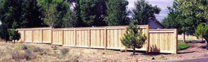 Custom Privacy Cedar Fencing