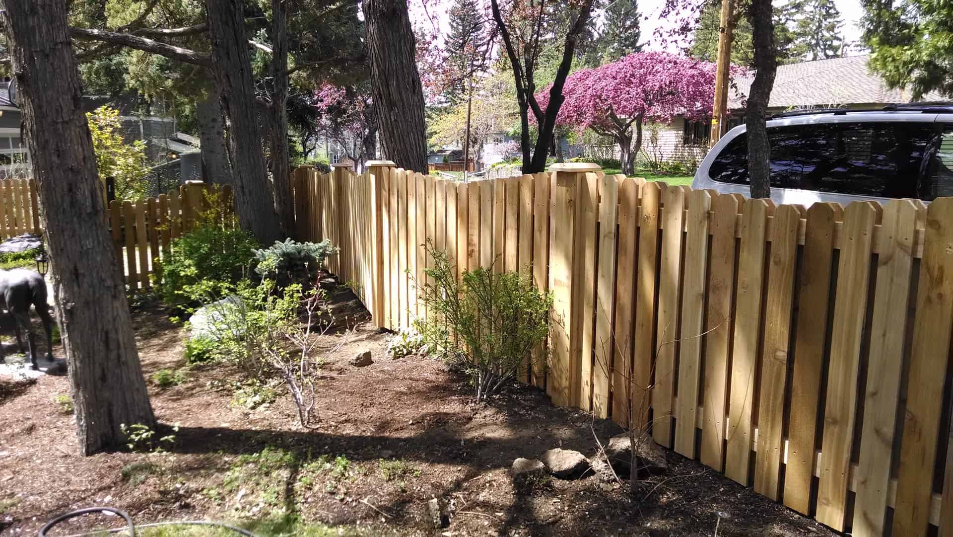 Scalloped Cedar Picket