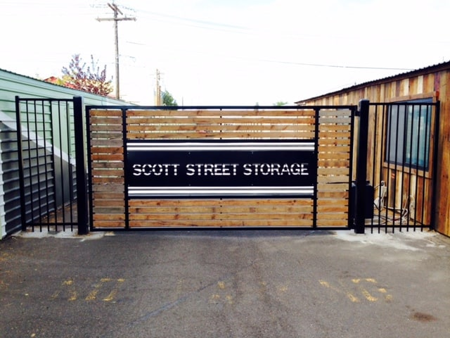Scott Street Storage Custom Gate
