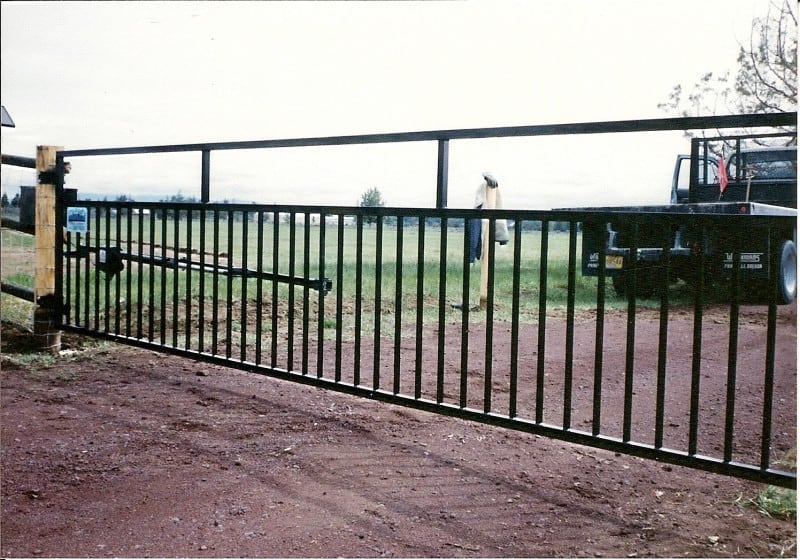 Automatic Entry Gates   Mike's Fence