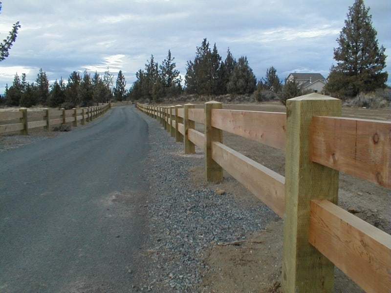 Rustic Rail Wood Fencing Mike S Fence