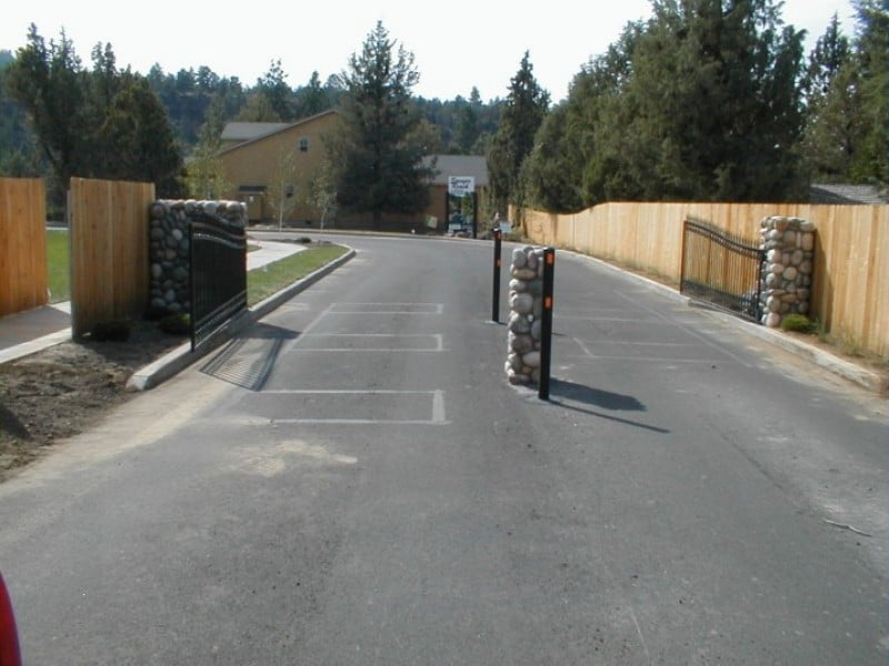 Automatic Entry Gates Mike S Fence